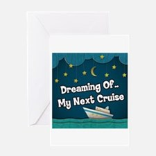 Dreaming Of My Next Cruise Greeting Card