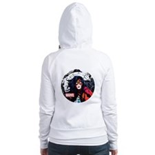 Spider-Woman Web Fitted Hoodie