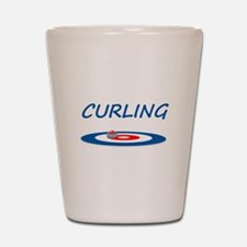 Curling Shot Glass