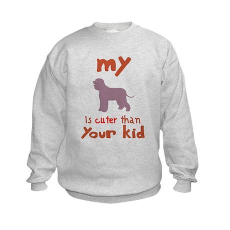 Irish Water Spaniel Kids Sweatshirt