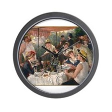Luncheon of the Boating Party Wall Clock