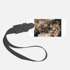 Luncheon of the Boating Party Luggage Tag