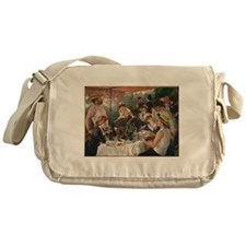 Luncheon of the Boating Party Messenger Bag