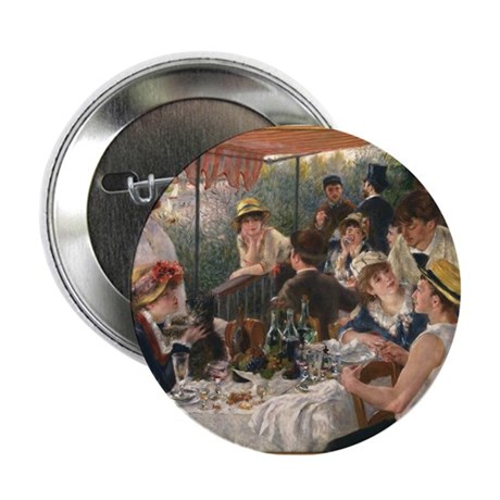 "Luncheon of the Boating Party 2.25"" Button (10 pac"