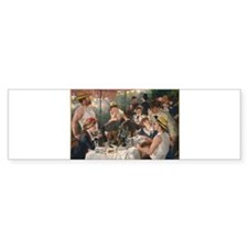Luncheon of the Boating Party Bumper Bumper Sticker