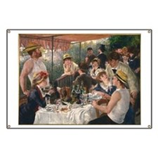 Luncheon of the Boating Party Banner