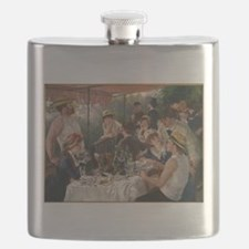Luncheon of the Boating Party Flask