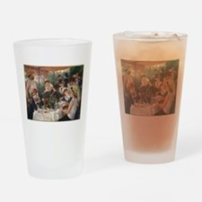 Luncheon of the Boating Party Drinking Glass