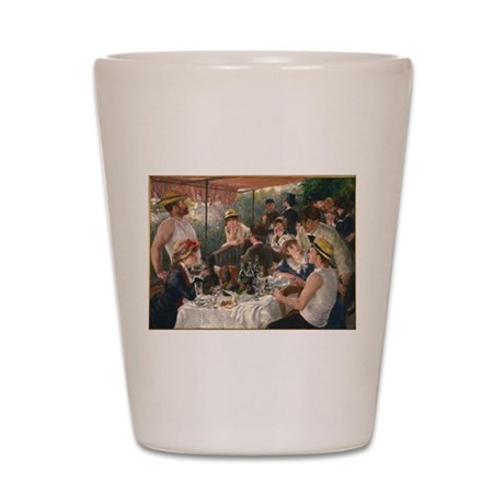 Luncheon of the Boating Party Shot Glass