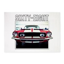 68 Mustang 5'x7'Area Rug