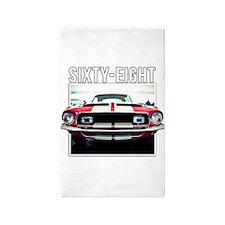 68 Mustang 3'x5' Area Rug