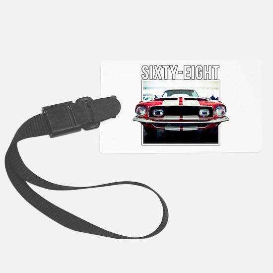 68 Mustang Luggage Tag