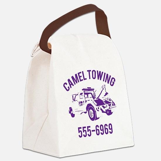 Cute Tow truck driver Canvas Lunch Bag