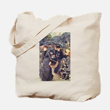The Umbrellas Tote Bag