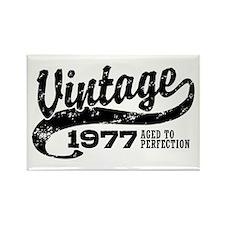Vintage 1977 Rectangle Magnet