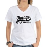 1978 Womens V-Neck T-shirts
