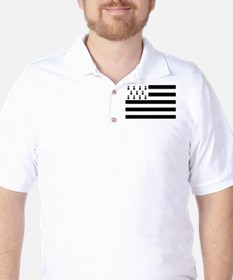 Brittany flag Golf Shirt