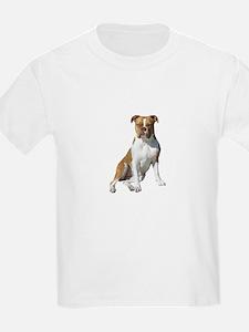 Am Bulldog 2 (Brn-W) T-Shirt
