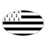 Breton flag Stickers