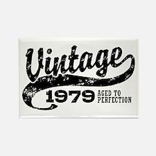 Vintage 1979 Rectangle Magnet