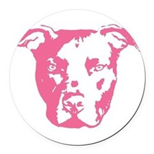American pit bull terrier Round Car Magnet