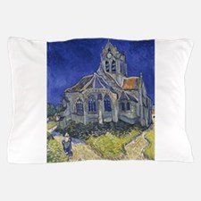 The Church at Auvers Pillow Case
