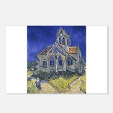 The Church at Auvers Postcards (Package of 8)