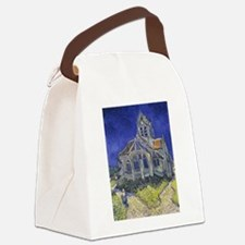 The Church at Auvers Canvas Lunch Bag