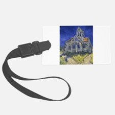 The Church at Auvers Luggage Tag