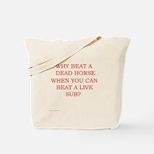 Dead Horse Tote Bag