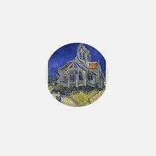 The Church at Auvers Mini Button