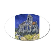 The Church at Auvers Wall Decal