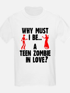 Teen Zombie In Love T-Shirt
