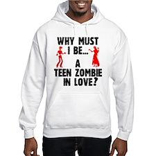 Teen Zombie In Love Hoodie