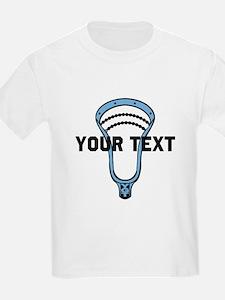 Lacrosse Personalize Head CBlue T-Shirt