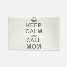 Keep Calm and Call Mom Magnets