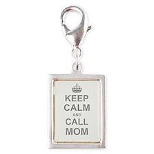 Keep Calm and Call Mom Charms