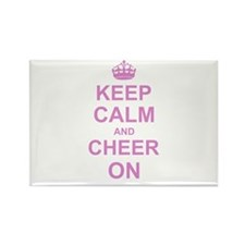 Keep Calm and Cheer on Magnets
