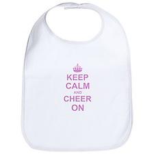 Keep Calm and Cheer on Bib