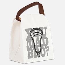 Lacrosse YouMadBro Canvas Lunch Bag