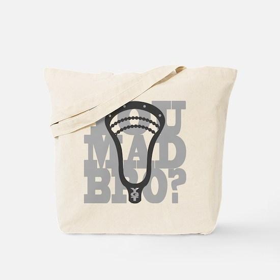 Lacrosse YouMadBro Tote Bag