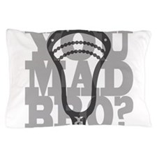 Lacrosse YouMadBro Pillow Case