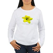 Love is a the Flower Long Sleeve T-Shirt