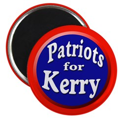 Patriots for Kerry Magnet