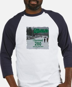 The Snowpocalypse on Hwy. 280 Baseball Jersey