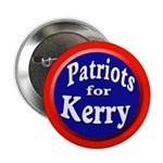 Patriots for Kerry Button (100 pack)