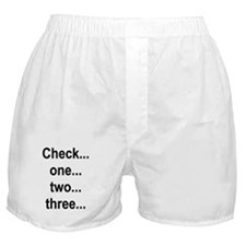 Check one Boxer Shorts