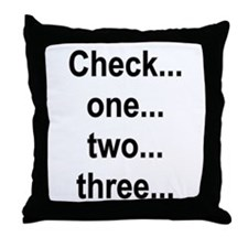 Check one Throw Pillow