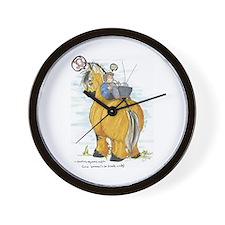 FJORD BARN Wall Clock