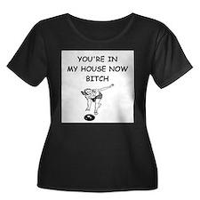 bowling Plus Size T-Shirt